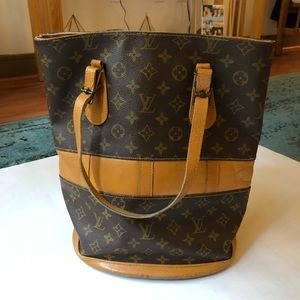 Louis Vuitton French Company Bucket Bag